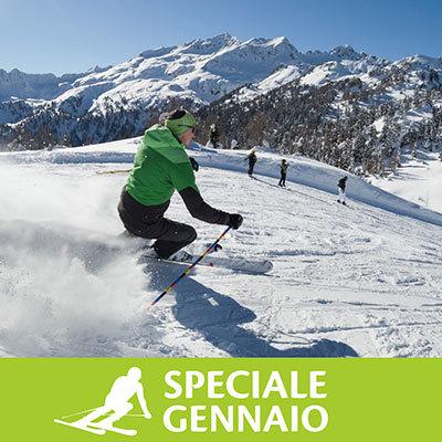 Residence Bonetei speciale Gennaio Folgarida