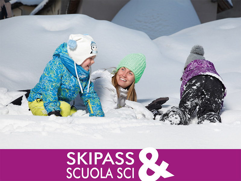 skipass e scuola sci tutto incluso